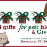 4 Gifts for Pets Giveaway & Blog Hop | ChiPets.com