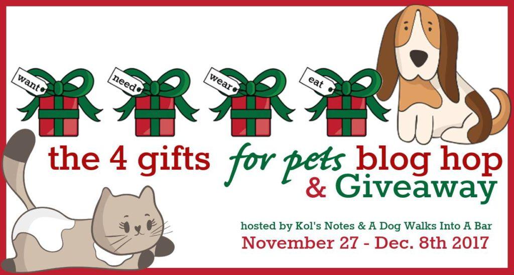 4 Gifts for Pets Giveaway & Blog Hop   ChiPets.com