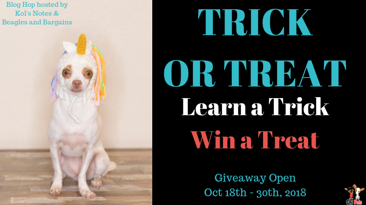 Trick Or Treat Giveaway 2017